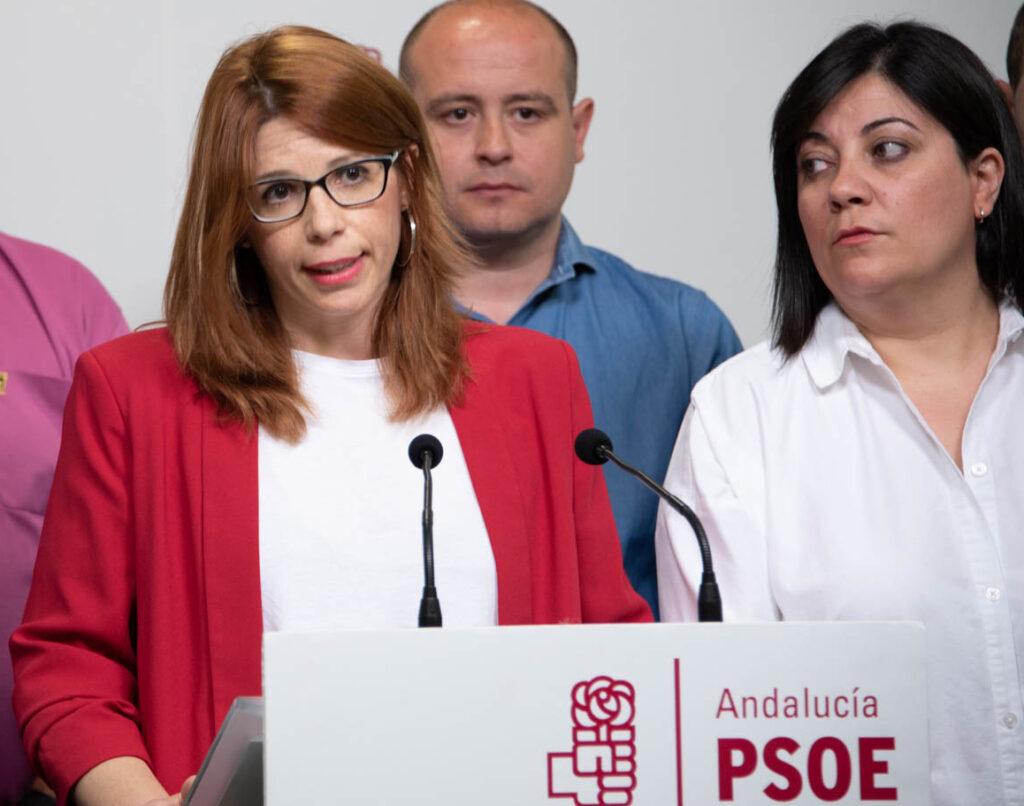 Ángeles Castillo Muñoz, portavoz del PSOE en el Ayuntamiento de Huércal de Almería.