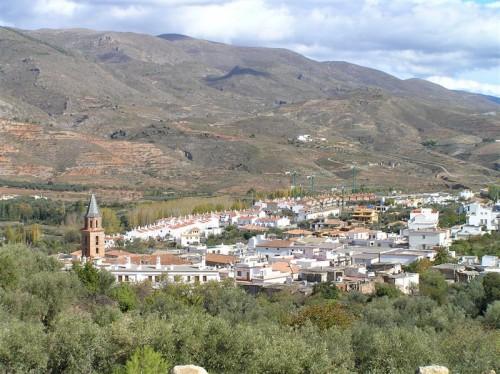 Vista del municipio de Fondón