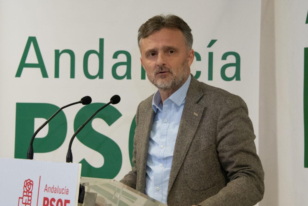 PSOE | José Fiscal, diputado andaluz y portavoz del Grupo Parlamentario Socialista