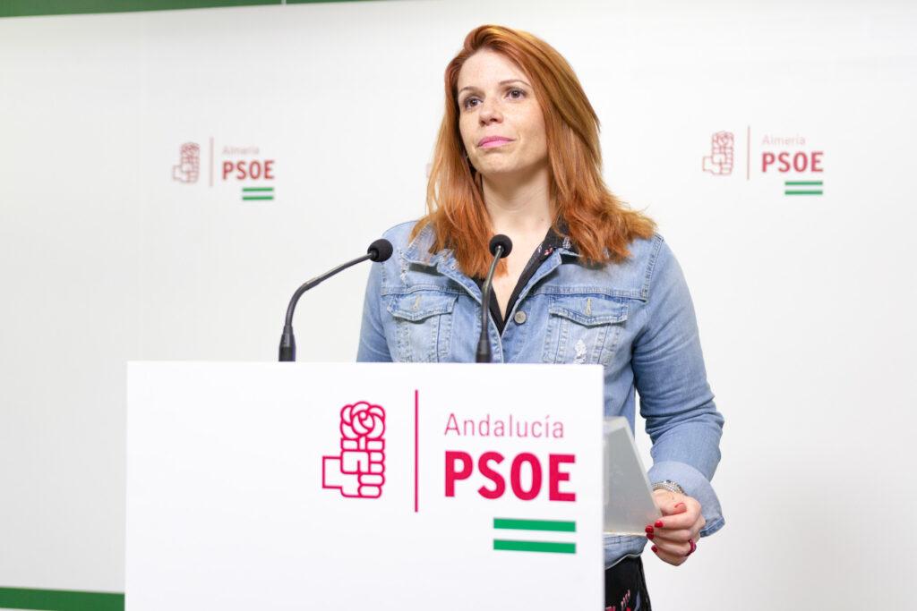 Ángeles Castillo, portavoz del PSOE en Huércal de Almería.