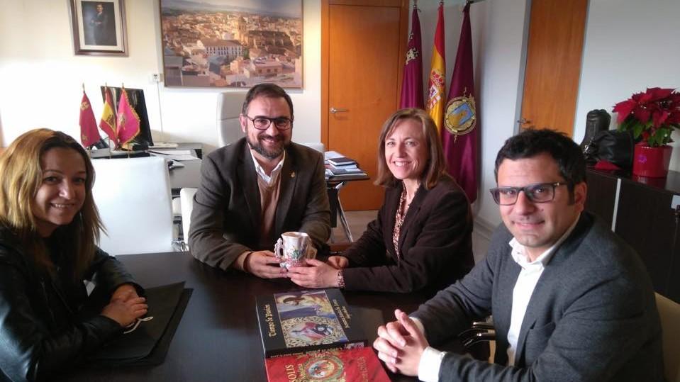 Reunión en el Ayuntamiento de Lorca