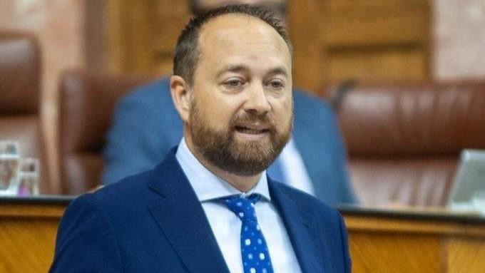 El parlamentario andaluz del PP Ramón Herrera de las Heras