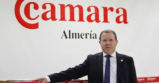 Jerónimo Parra, presidente de la Cámara de Comercio de Almería