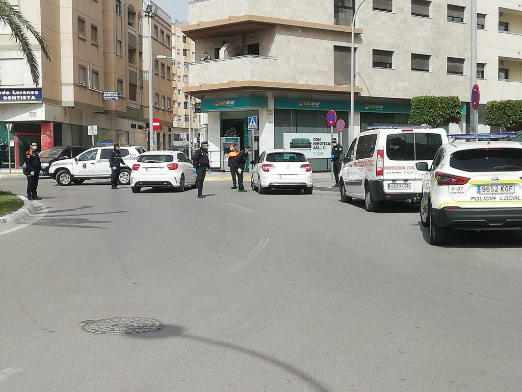 Control de la Policía Local de El Ejido