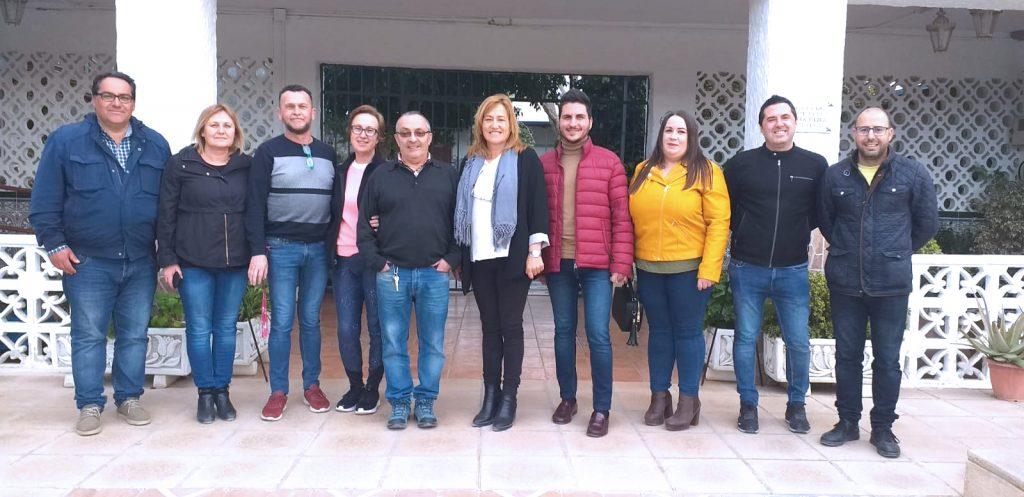 Visita del equipo de Gobierno de Níjar a Nuevo Rumbo