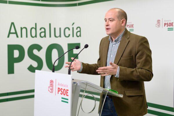 Antonio Martínez, senador del PSOE por Almería.