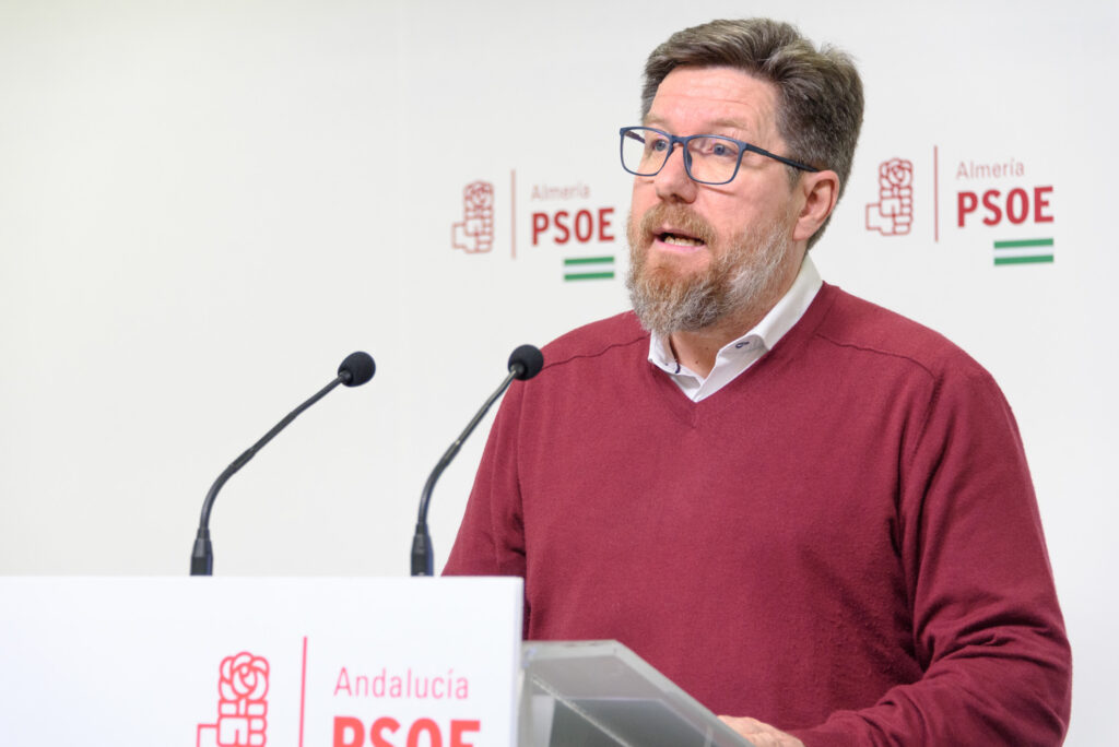 Imagen de archivo de Rodrigo Sánchez Haro, en rueda de prensa