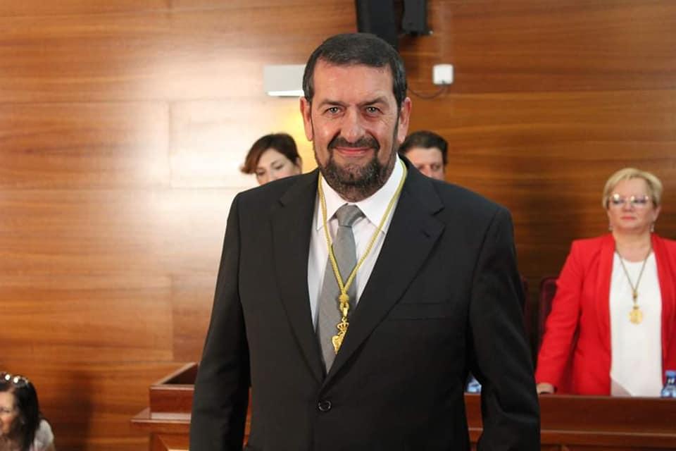 Martín Gerez, portavoz del Grupo Municpal Socialista en el Ayuntamiento de Vera.