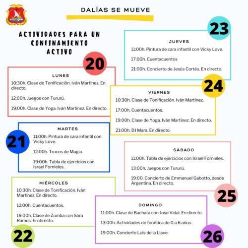 programación de Dalías