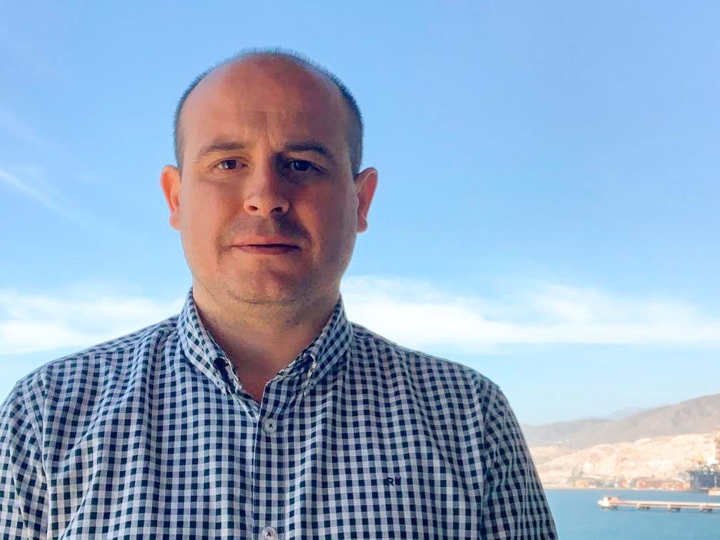 Antonio Martínez, secretario de Organización del PSOE de Almería