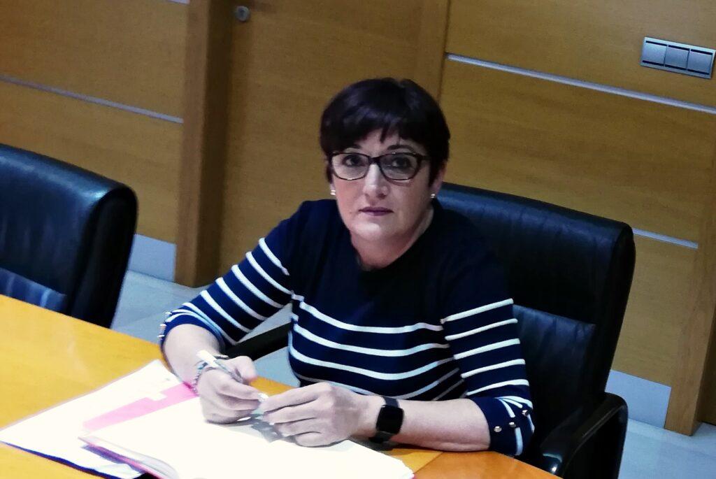 Maribel Carrión, portavoz del Grupo Municipal Socialista en el Ayuntamiento de El Ejido