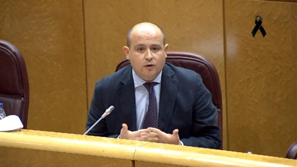 Intervención de Antonio Martínez en el Senado