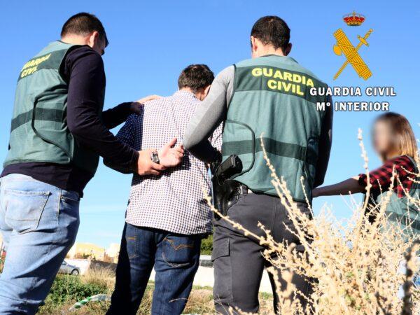 Detención de una persona en El Ejido.