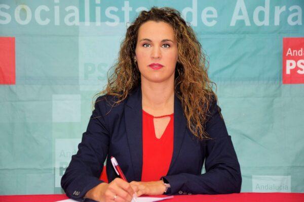 Eva Quintana, Concejal Socialista en el Ayuntamiento de Adra