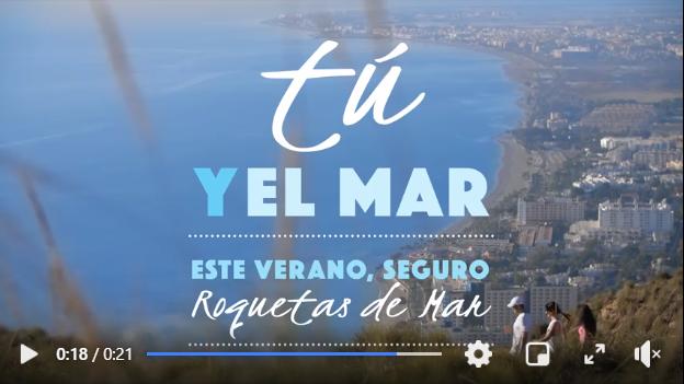 Imagen del vídeo promocional de Roquetas de Mar