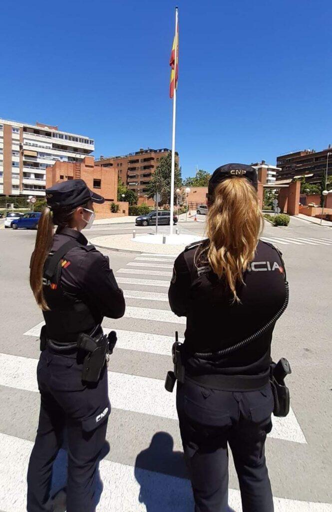 Agentes del Cuerpo Nacional de Policía.