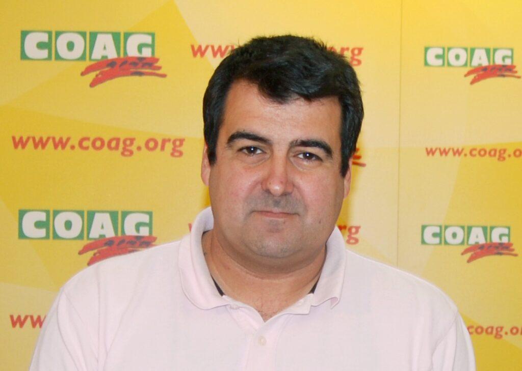 Andrés Góngora, Responsable estatal de Coag