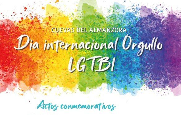 Cartel Día Orgullo en Cuevas del Almanzora