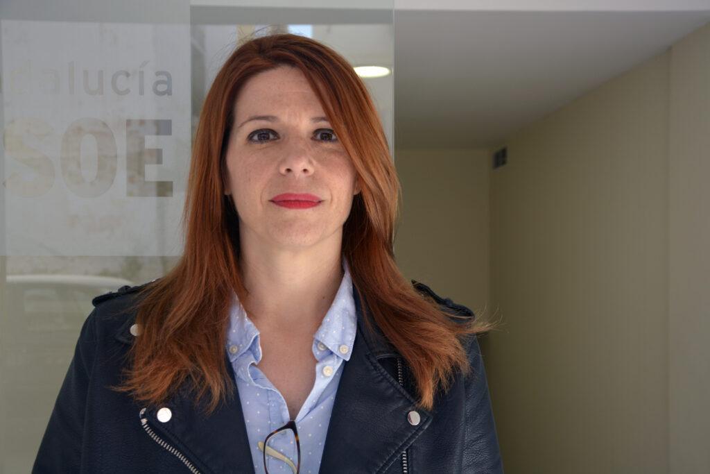 Ángeles Castillo Muñoz, portavoz del Grupo Municipal Socialista en Huércal de Almería.