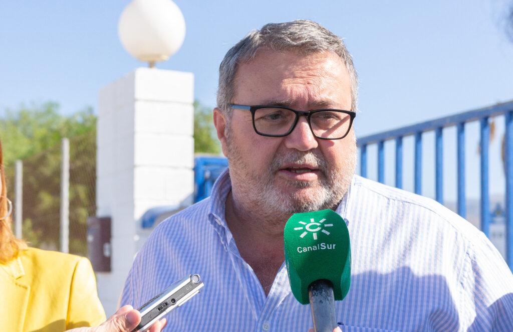 Manolo García, portavoz del Grupo Municipal Socialista en el Ayuntamiento de Almería.