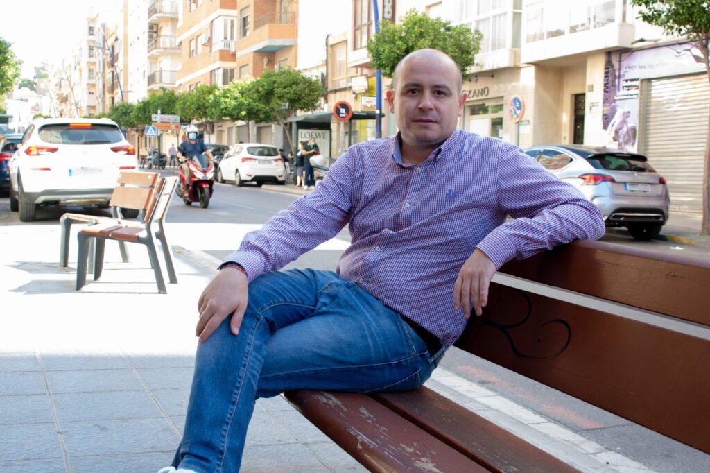 Antonio Martínez, senador del PSOE de Almería