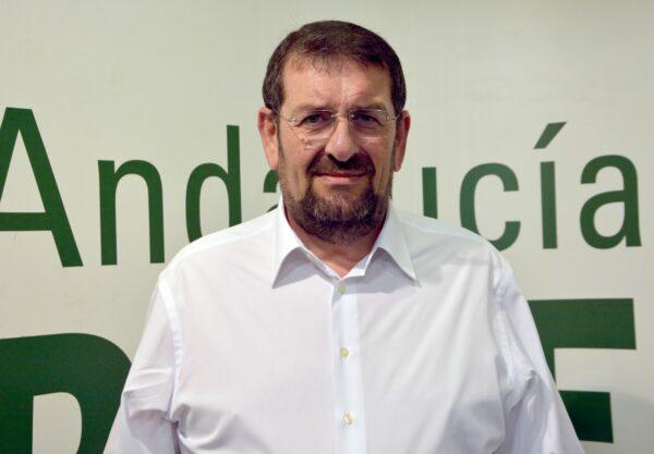 Martín Gerez, portavoz del PSOE en el Ayuntamiento de Vera.