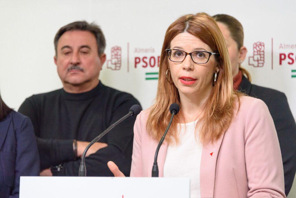 Ángeles Castillo, portavoz del Grupo Socialista en el Ayuntamiento de Huércal de Almería