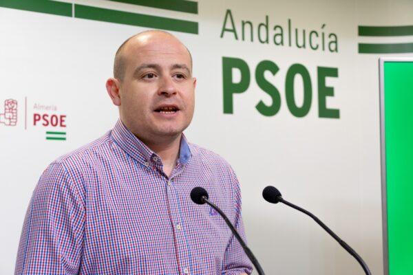 Antonio Martínez, secretario de Organización del PSOE de Almería y senador