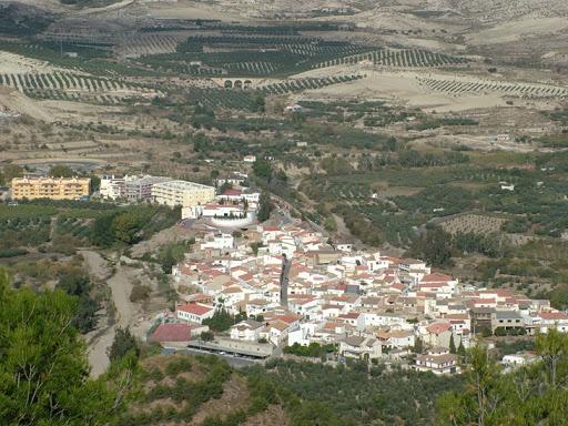 Vista aérea de Armuña de Almanzora