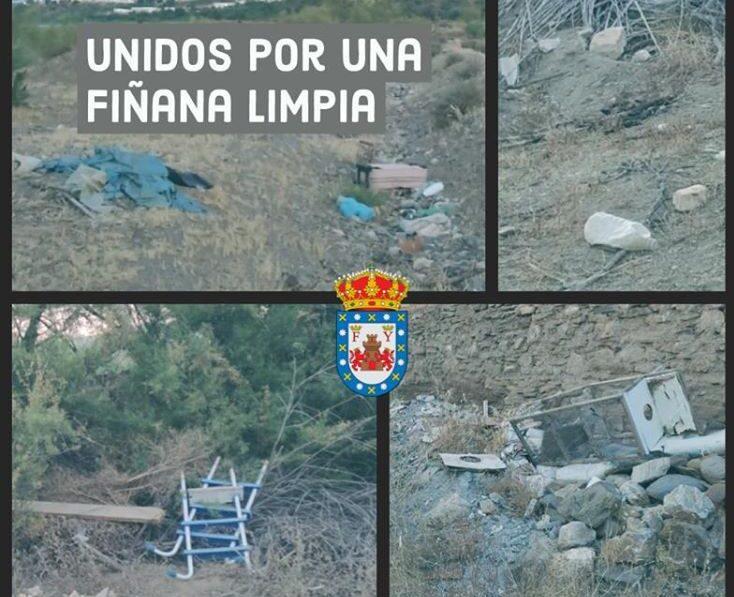 Campaña de limpieza Fiñana
