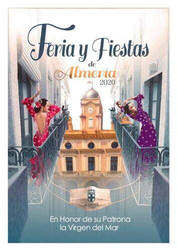 Cartel Feria de Almería 2020