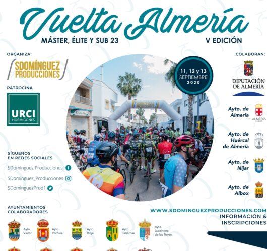 Cartel Vuelta a Almería