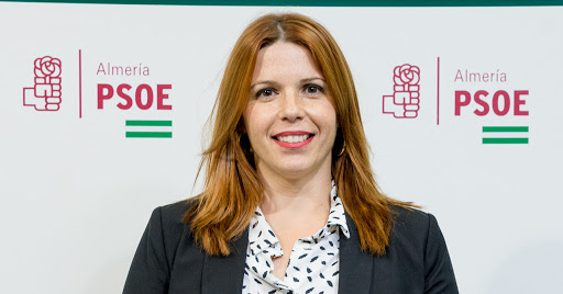 Ángeles Castillo, portavoz del PSOE en el Ayuntamiento de Huércal de Almería