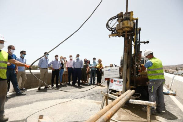 Cargos políticos en el desdoblamiento del puente Viator y Huércal de Almería