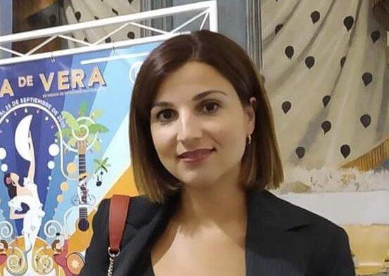 Isabel Núñez, concejal socialista en el Ayuntamiento de Vera