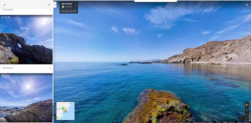 El proyecto de geolocalización y fotografías en 360º en Google, desarrollado por la empresa Cubo 3D y trasladado a FITUR hace dos años, sigue creciendo