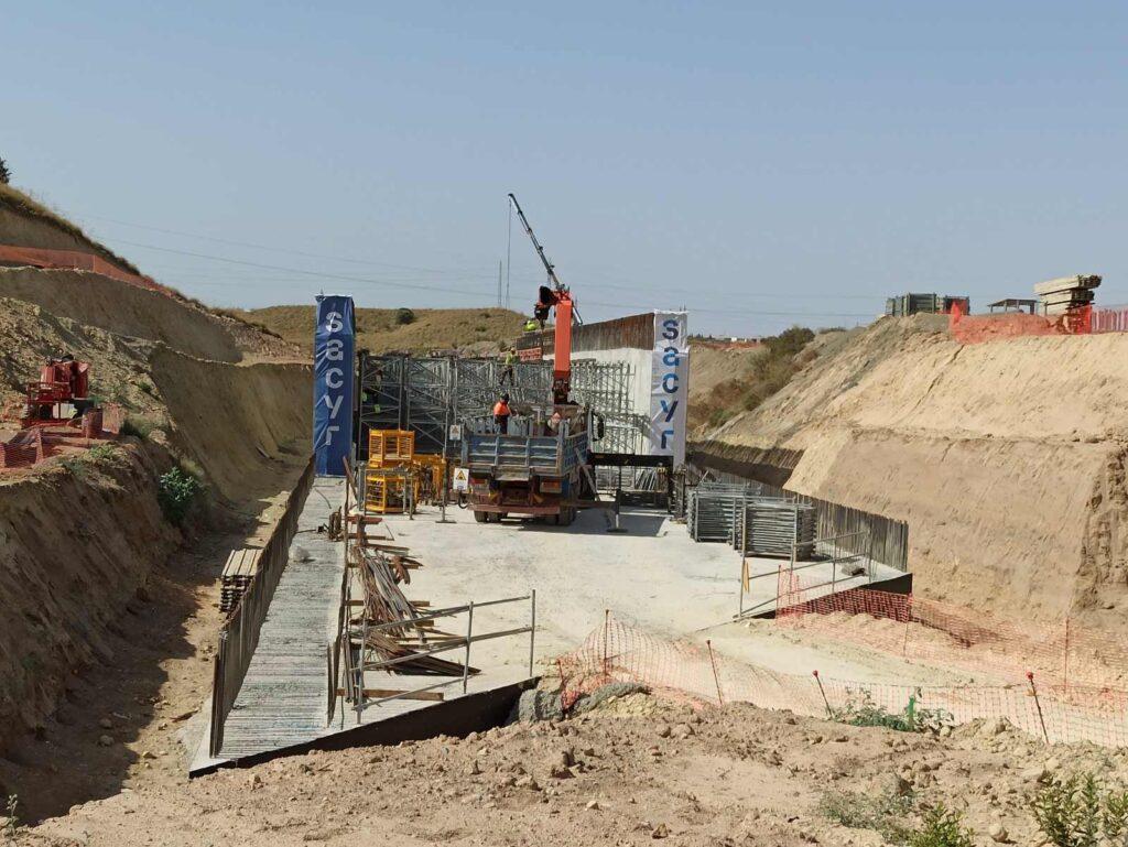 Obras en el tramo alta velocidad Los Arejos-Níjar