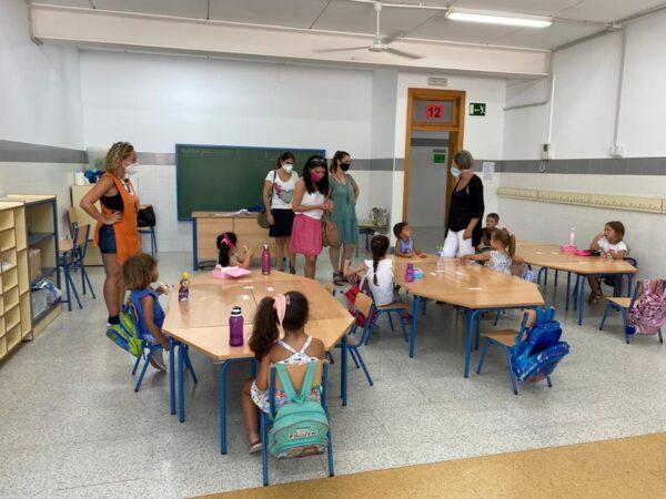 Visita a la Escuela de Verano en el CEIP La Jarilla