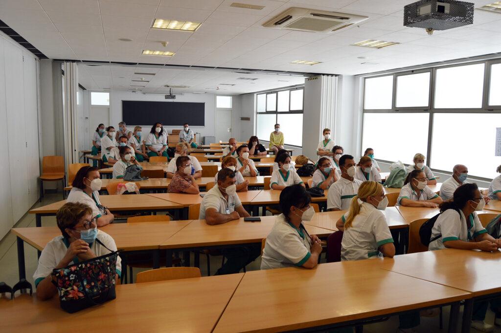Aula de la Universidad de Almería.