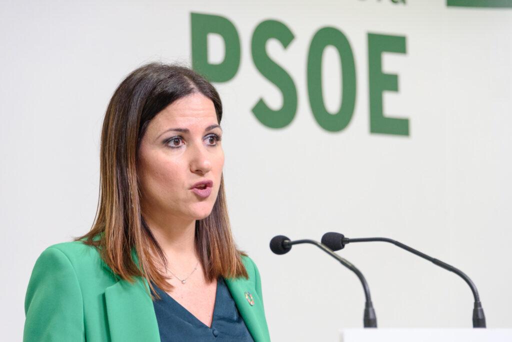 Fotografía de archivo de la senadora del PSOE de Almería, Inés Plaza García.