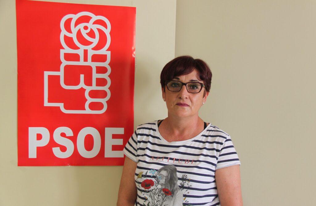 Maribel Carrión, portavoz del PSOE en el Ayuntamiento de El Ejido.