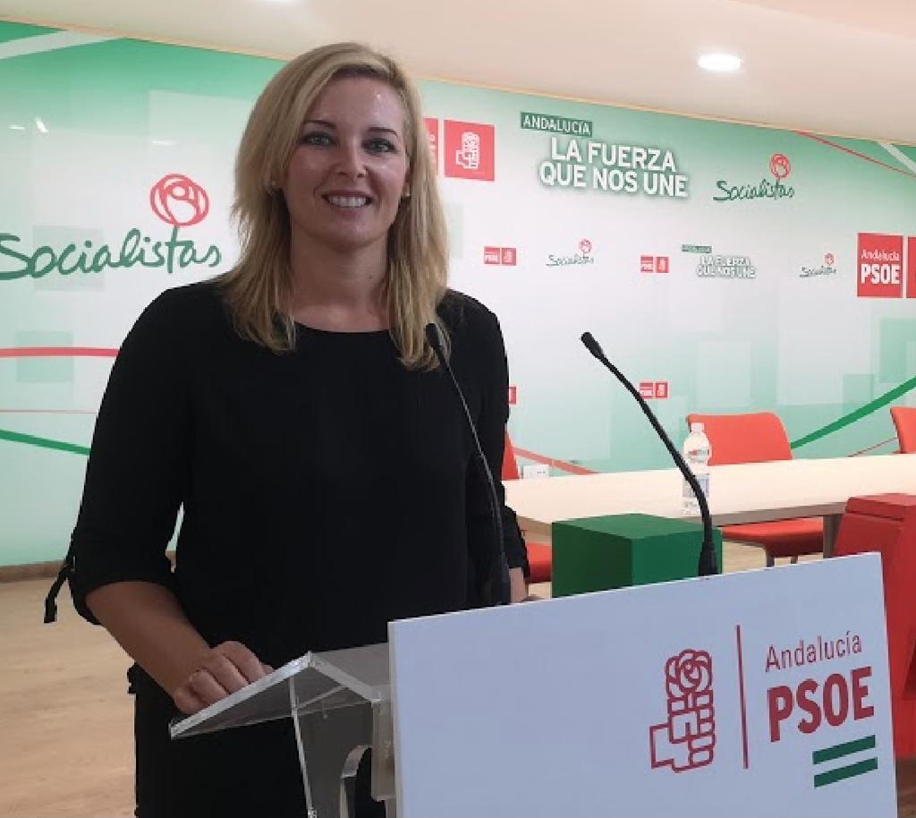Teresa Piqueras, portavoz socialista en el Ayuntamiento de Adra