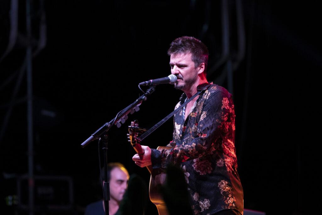 Coque Malla, en concierto, en Almería.