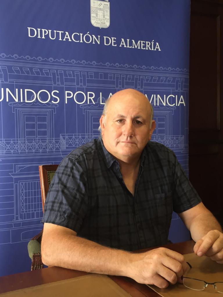 Antonio Gutiérrez, diputado provincial del PSOE de Almería.