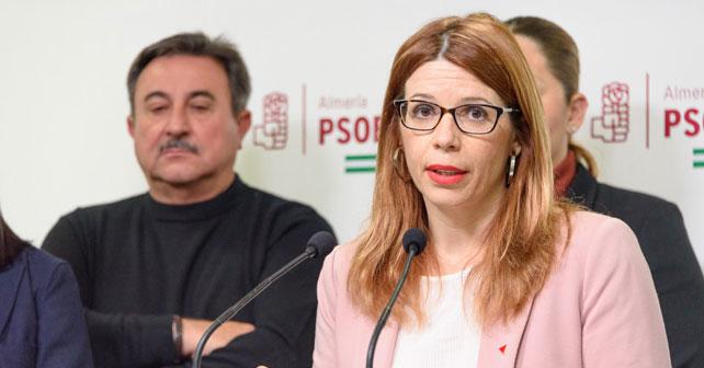 Ángeles Castillo, portavoz del PSOE en Huércal de Almería, en una imagen de archivo.