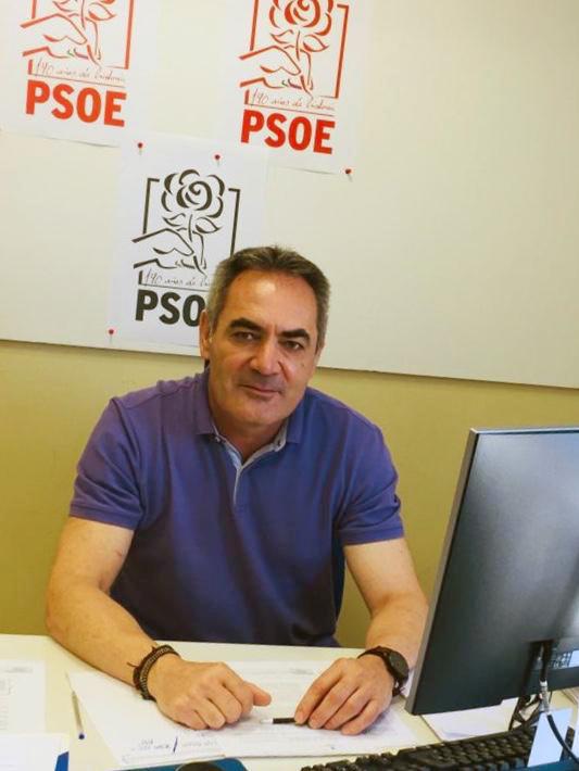 Marcelo López Valverde, diputado provincial del PSOE de Almería.