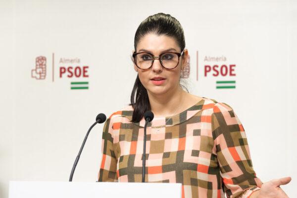 Noemí Cruz Martínez, parlamentaria autonmómica del PSOE de Almería.