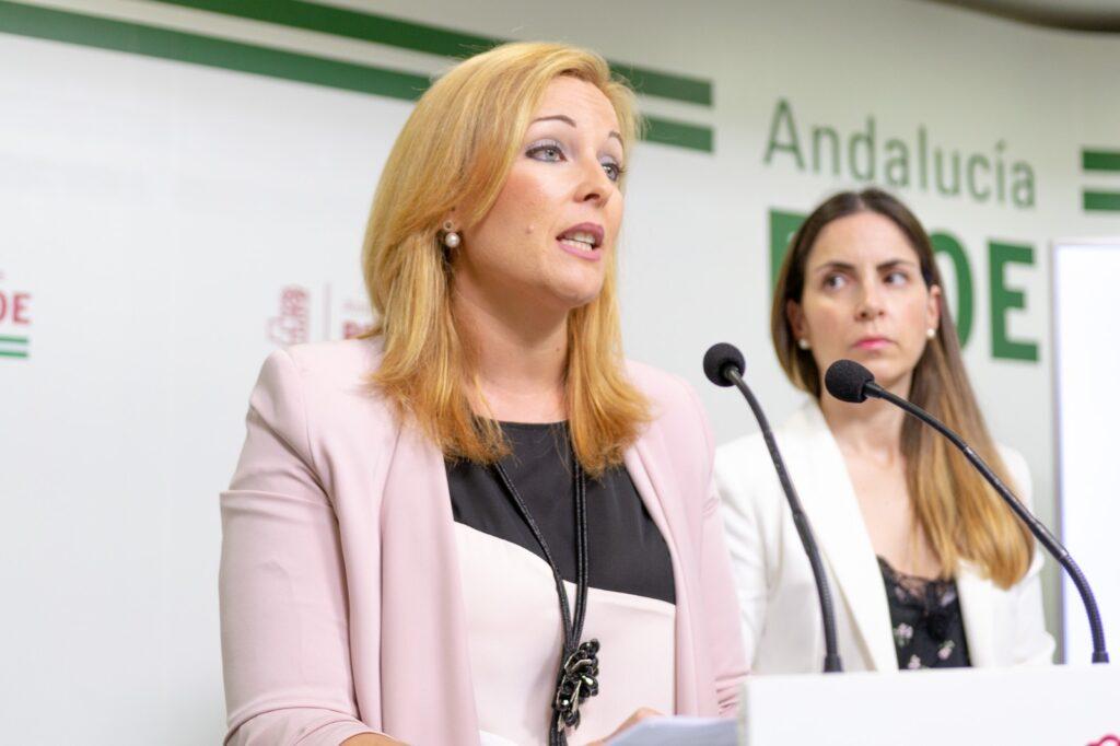 Teresa Piqueras en una fotografía de archivo, en rueda de prensa.