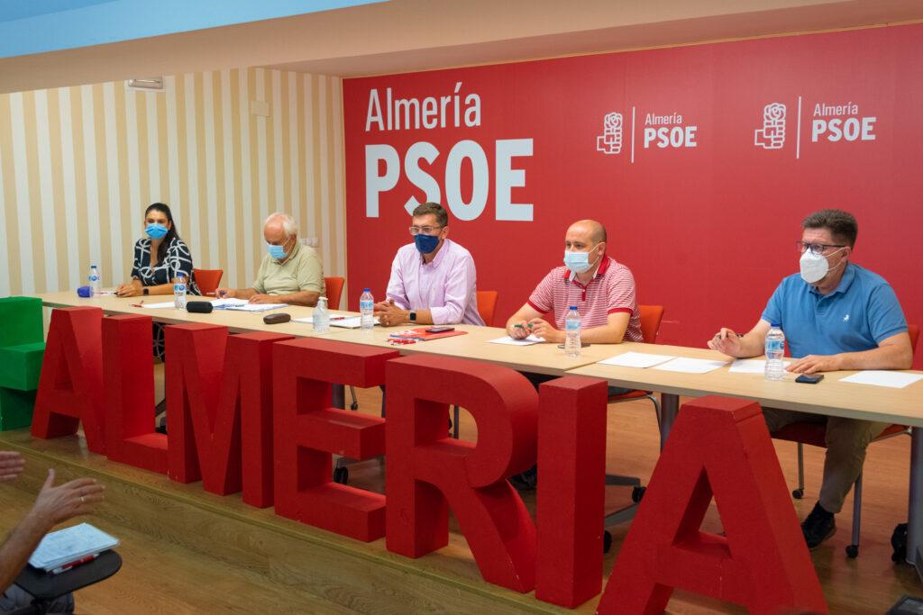 Última reunión de la Comisión Ejecutiva provincial del PSOE de Almería