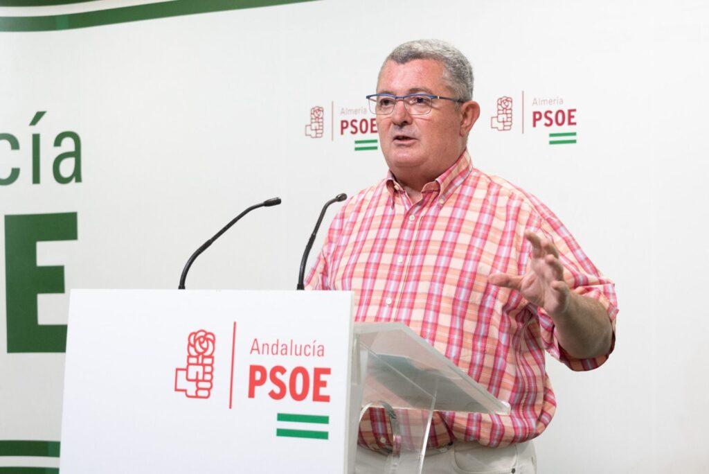 El parlamentario socialista Jesús María Ruiz